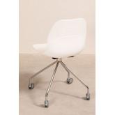 Chaise de Bureau à Roulettes Tech, image miniature 4