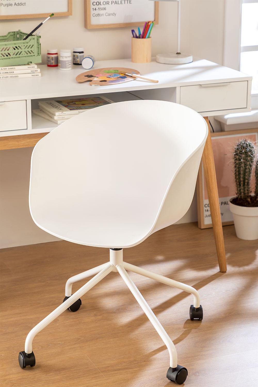 Chaise de Bureau à roulettes Yäh, image de la galerie 1
