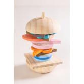 Burger en bois pour enfants, image miniature 3