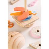 Burger en bois pour enfants, image miniature 4