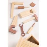 Boîte à outils en bois pour enfants Decker, image miniature 3