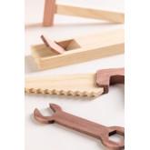 Boîte à outils en bois pour enfants Decker, image miniature 4