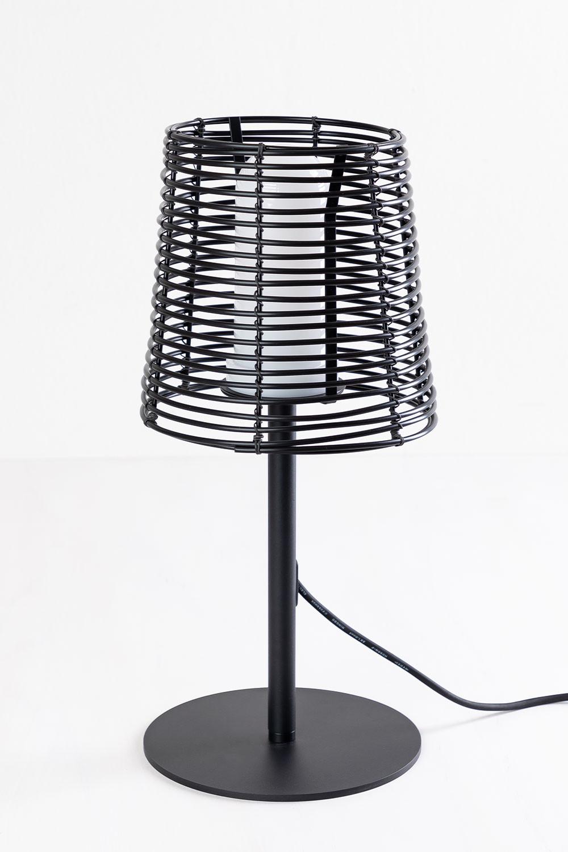 Lampe de table d'extérieur Bissel, image de la galerie 1