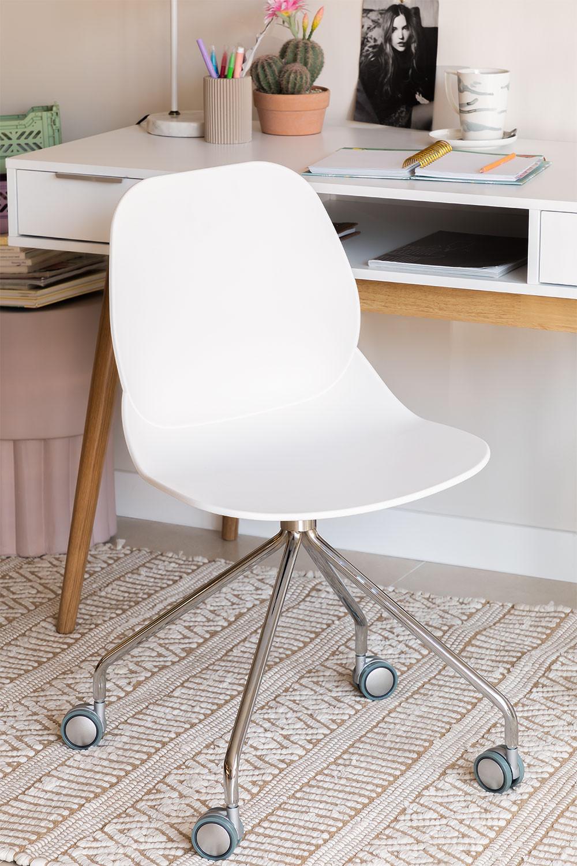 Chaise de Bureau à Roulettes Tech, image de la galerie 1