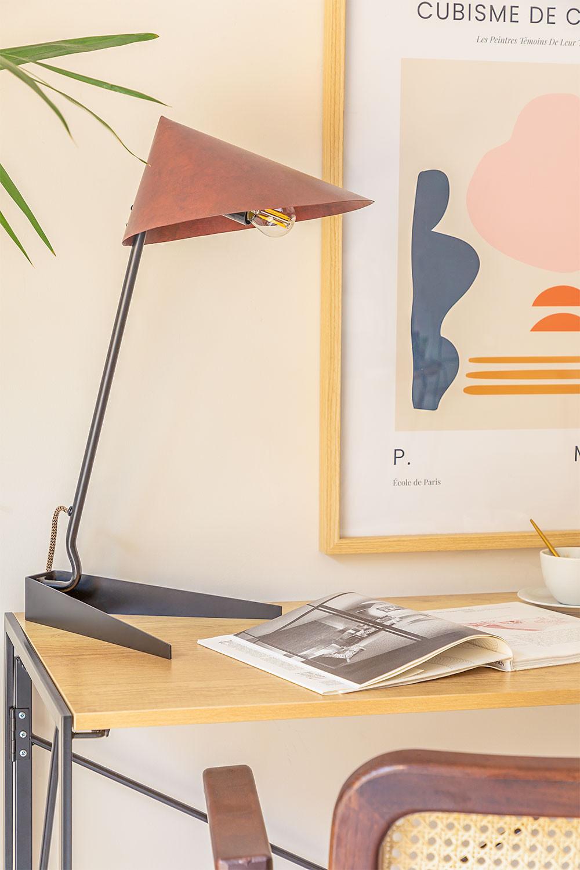 Lampe de Table en Acier Lëx, image de la galerie 1