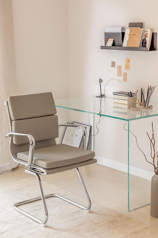 Chaise de Bureau avec Accoudoirs Mina, image de la galerie 1