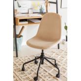 Chaise de bureau en velours Glamm, image miniature 1