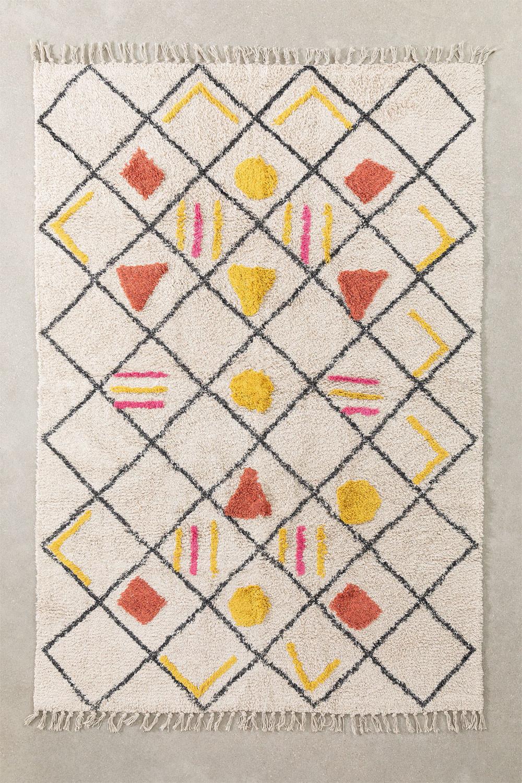Tapis en coton (185x120 cm) Geho, image de la galerie 1