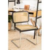 Chaise de salle à manger en rotin Tento, image miniature 2