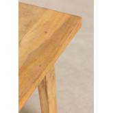 Tabouret en bois Low Pid, image miniature 5