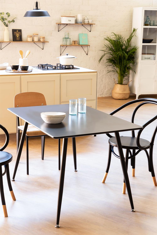 Table Lahs MDF 120 cm, image de la galerie 1