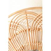 Miroir mural rond en rotin (Ø60 cm) Corent, image miniature 5