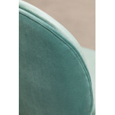 Pack de 4 Chaises en Velours Pary, image miniature 5