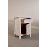 Table de chevet en bois Dimma, image miniature 4