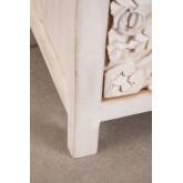 Table de chevet en bois Dimma, image miniature 6