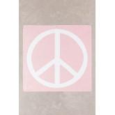 Tapisserie en coton Peace & Love, image miniature 2