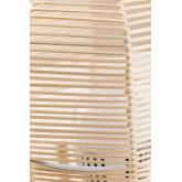 Lampe de table Damien en osier , image miniature 5