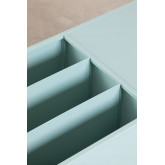 Table basse avec porte-revues en métal Blas, image miniature 5