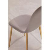 Chaise en Velours Glamm, image miniature 4