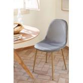 Lot 4 chaises en velours côtelé Glamm, image miniature 5