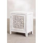 Table de chevet en bois Nolei, image miniature 2