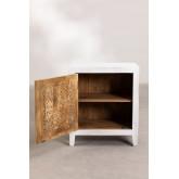 Table de chevet en bois Nolei, image miniature 4