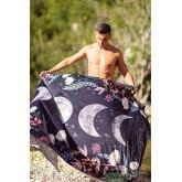 Paréo de plage en coton Noelia, image miniature 1
