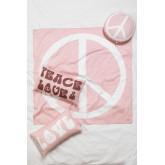 Tapisserie en coton Peace & Love, image miniature 5