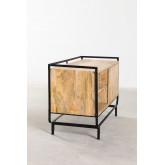 Meuble TV en bois de manguier Ghertu, image miniature 3