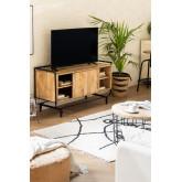Meuble TV en bois de manguier Ghertu, image miniature 1