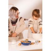 Set 2 Tabliers Adulte et Enfant Violet, image miniature 1