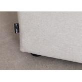 Canapé modulable 3 pièces avec 2 fauteuils d'angle Kata, image miniature 6