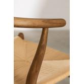 Tabouret haut en bois rétro Uish, image miniature 6