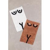 Tapis de bain en coton (40x70 cm) Luet, image miniature 4