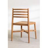 Chaise de jardin en bois de teck Attila, image miniature 4