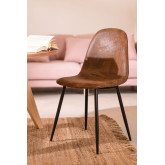 Chaise en Simili Cuir Glamm, image miniature 1