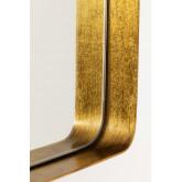 Miroir mural rectangulaire en métal Meritt, image miniature 4