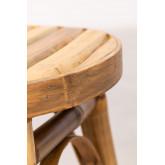 Tabouret bas en bambou Ovne, image miniature 5