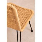 Chaise de salle à manger en osier Sunset Vali , image miniature 4