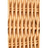 Chaise de salle à manger en osier Sunset Vali , image miniature 5