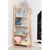 Étagère en bois pour enfants Skal, image miniature 1