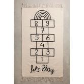 Tapis rectangulaire en coton (150x90 cm) Sambori, image miniature 1199009