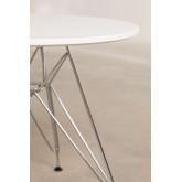 Table Scand Brich [KIDS!] Ø60 cm Métallisée, image miniature 2