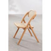 Chaise de salle à manger pliante en bois Sia , image miniature 5