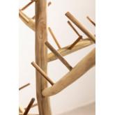 Arbre de Noël en bois de teck Abies, image miniature 3