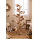 Arbre de Noël en bois de teck Abies, image miniature 1