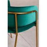 Chaise de salle à manger en velours Nalon, image miniature 4