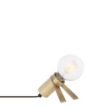 Lampe Crawl Métallisée
