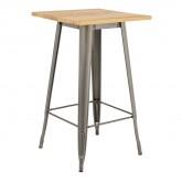 Table Haute LIX Brossée en Bois, image miniature 1