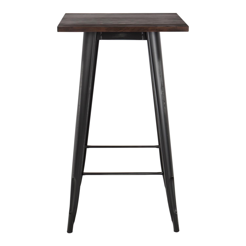 table haute lix vintage en bois sklum. Black Bedroom Furniture Sets. Home Design Ideas